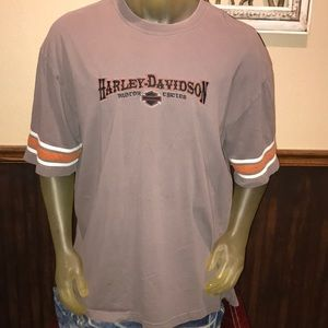 Harley-Davidson Motorcycles Embroidered T-Shirt